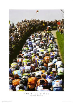 "Amstel Gold Race ""The Gauntlet"" Cycling Poster Print - Graham Watson Inc."