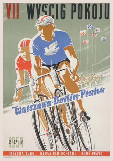 "Vintage Cycling ""VII Wyscig Pokoju"" (Peace Race 1954) - The Horton Collection"
