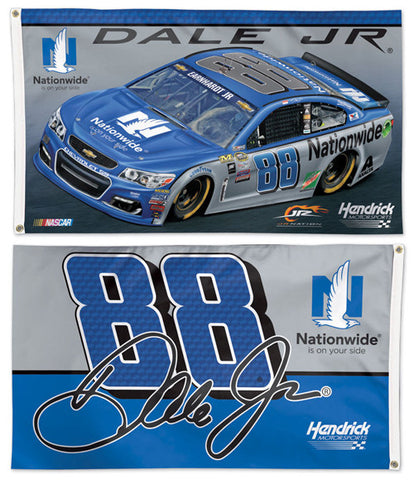 Dale Earnhardt Jr. NASCAR #88 Nationwide Chevy SS Huge 3' x 5' Banner Flag - Wincraft 2016