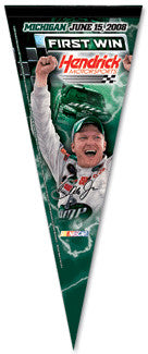 "Dale Earnhardt Jr. ""First Hendrick Win"" Premium Pennant (2008)"
