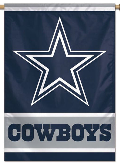 Dallas Cowboys Official NFL Football Team Logo-Style 28x40 Wall BANNER - Wincraft Inc.