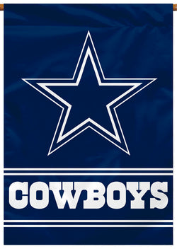 Dallas Cowboys Official NFL Football Team Premium Banner Flag - BSI Products
