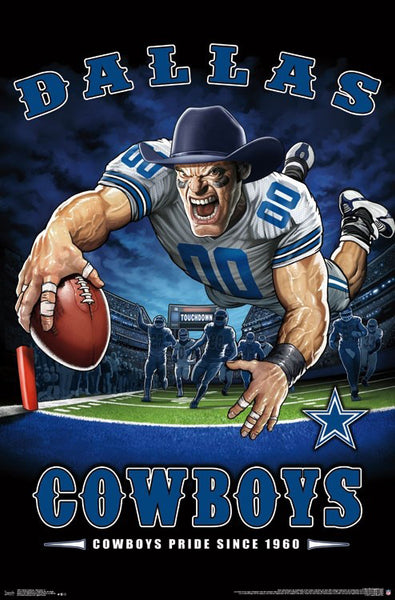 "Dallas Cowboys ""Cowboys Pride Since 1960"" NFL Team Theme Poster - Trends International Inc."