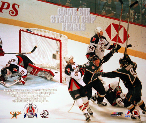 "Dallas Stars ""OT Magic"" Brett Hull 1999 Stanley Cup Winning Goal Premium Poster Print - Photofile"