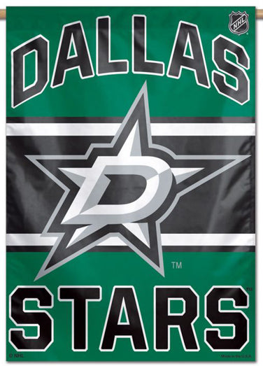 Dallas Stars Official NHL Hockey Team Premium 28x40 Wall Banner - Wincraft Inc.
