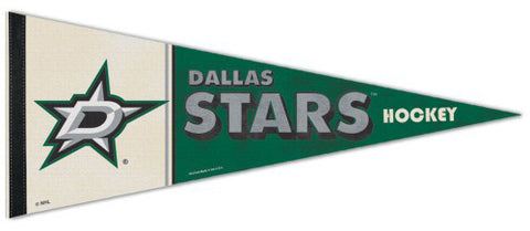Dallas Stars NHL Vintage Hockey Collection Premium Felt Collector's Pennant - Wincraft