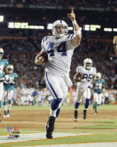 "Dallas Clark ""Touchdown!"" Indianapolis Colts Premium Poster Print - Photofile 16x20"