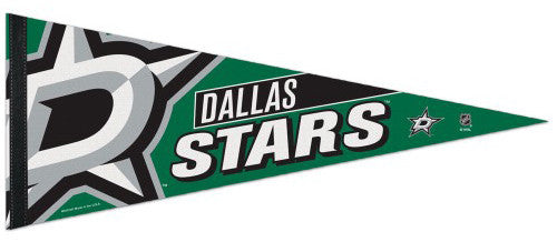 Dallas Stars NHL Hockey Premium Felt Collector's Pennant - Wincraft Inc.
