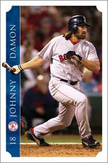 "Johnny Damon ""World Series Action"" - Costacos 2005"
