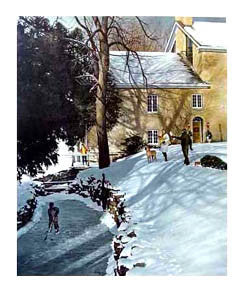 """Christmas at the Mill"" - Ken Danby Studios"