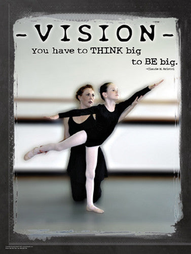 "Dance ""Vision"" Motivational Inspirational Poster - Jaguar Inc."