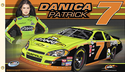 "Danica Patrick ""Danica Nation"" 3'x5' Flag - BSI 2010"