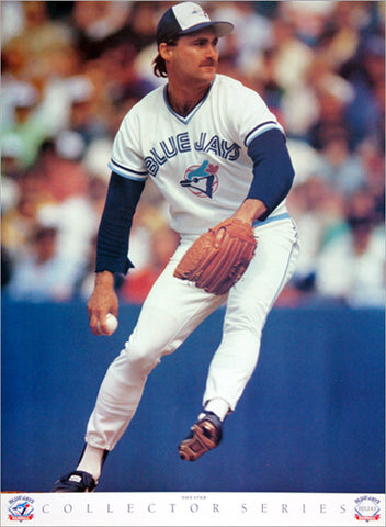 "Dave Stieb ""Ace"" Toronto Blue Jays Poster - Victory Productions 1990"