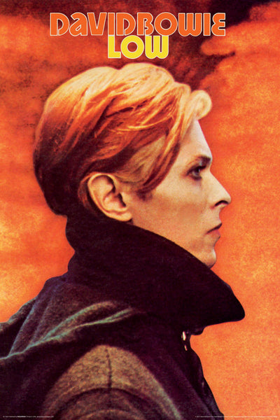 "David Bowie ""Low"" (1977) Album Cover Reprint Poster - Aquarius Images"
