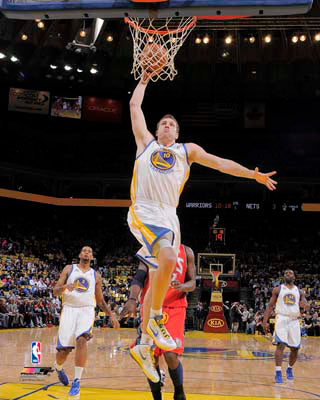 "David Lee ""Golden State Slam"" (2012) Golden State Warriors Premium Poster Print - Photofile 16x20"