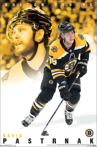 "David Pastrnak ""Superstar"" Boston Bruins NHL Hockey Action Poster - Trends International"
