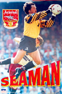 "David Seaman ""Big Save"" Aresnal FC Goalkeeper Poster - Starline 1997"