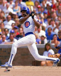 "Andre Dawson ""Slam"" (1987) Chicago Cubs Premium Poster Print - Photofile Inc."