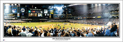 Arizona Diamondbacks 2001 World Series Champions Panoramic Poster Print - Everlasting (AZ-132)