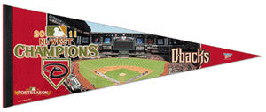 Arizona Diamondbacks 2011 NL West Champs Premium Felt Pennant - Wincraft