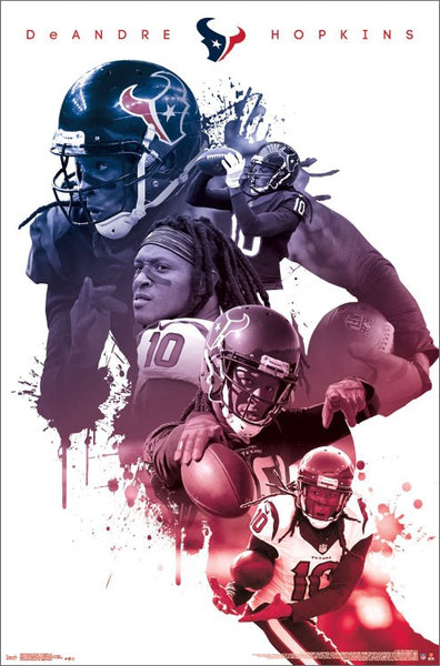 "DeAndre Hopkins ""Superstar"" Houston Texans NFL Football Poster - Trends International"
