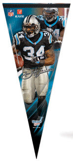 "DeAngelo Williams ""Signature"" Extra-Large Premium Felt Pennant"