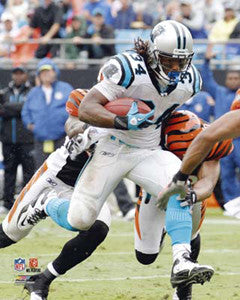 "DeAngelo Williams ""Big Gain"" Carolina Panthers Premium Poster Print - Photofile 16x20"