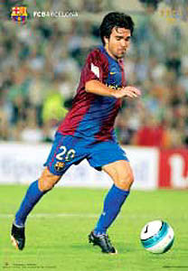 "Deco ""Superstar"" FC Barcelona Official Poster - CPG 2007"