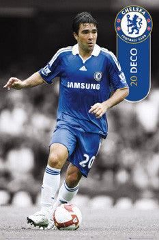 "Deco ""Chelsea Blue"" Chelsea FC Poster - GB Eye 2008"