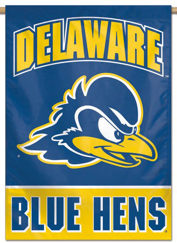 University of Delaware Blue Hens NCAA Premium 28x40 Wall Banner - Wincraft Inc.