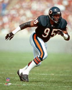 Richard Dent Chicago Bears Classic (c.1988) NFL Action Premium Poster Print - Photofile 20x24