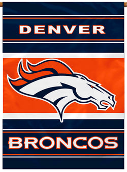 Denver Broncos Official NFL Football Team Premium Banner Flag - BSI Products