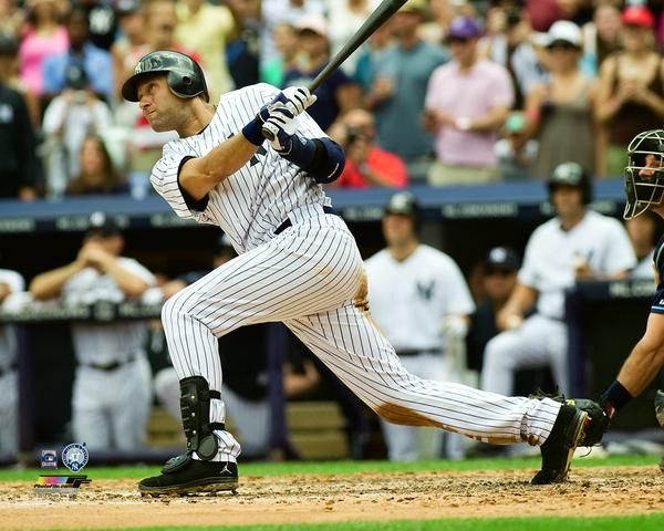 Derek Jeter 3000th Hit (7/9/2011) New York Yankees Premium Poster Print - Photofile Inc.