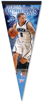 Deron Williams Utah Jazz Premium Felt Pennant L.E. /2,009