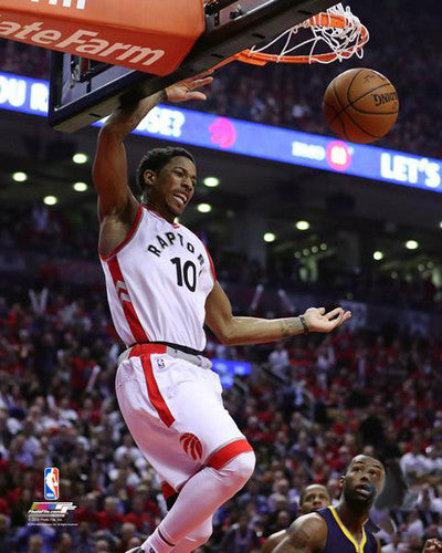 "DeMar DeRozan ""Playoff Slam"" Toronto Raptors NBA Action Premium Poster Print - Photofile 16x20"