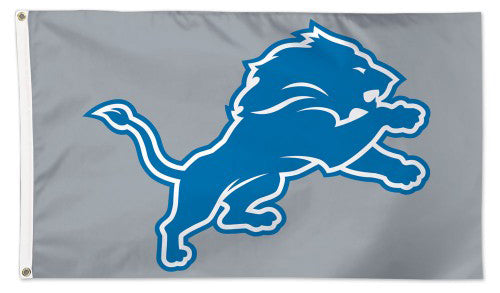 Detroit Lions Official NFL Football DELUXE-EDITION 3'x5' Flag - Wincraft Inc.