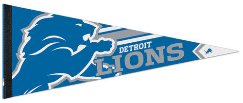 Detroit Lions Official NFL Football Team Premium Felt Collector's Pennant - Wincraft
