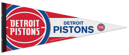 Detroit Pistons Official NBA Basketball Team Premium Felt Pennant - Wincraft
