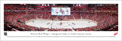 Detroit Red Wings Inaugural Game at Little Caesars Arena Panoramic Poster Print - Blakeway