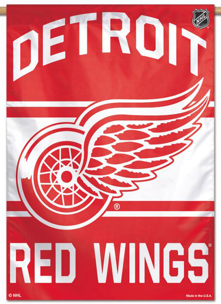 Detroit Red Wings Official NHL Hockey Team Premium 28x40 Wall Banner - Wincraft Inc.