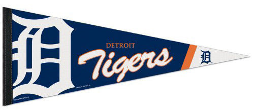 Detroit Tigers Official MLB Logo-Style Premium Felt Pennant - Wincraft Inc.