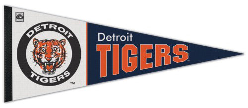 Detroit Tigers Cooperstown Collection 1960s-80s-Style Premium Felt Pennant - Wincraft