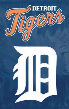 Detroit Tigers Premium MLB Applique Banner Flag - Party Animal