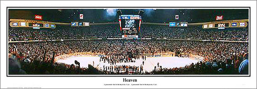 "New Jersey Devils ""Heaven"" 1995 Stanley Cup Champs Panoramic Poster Print - Everlasting Images"