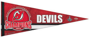 New Jersey Devils NHL Eastern Conference Champions Commemorative Felt Pennant