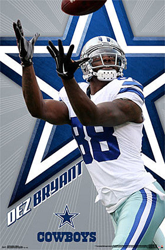 "Dez Bryant ""Dynamo"" Dallas Cowboys Wide Receiver NFL Action Wall POSTER - Trends Int'l."