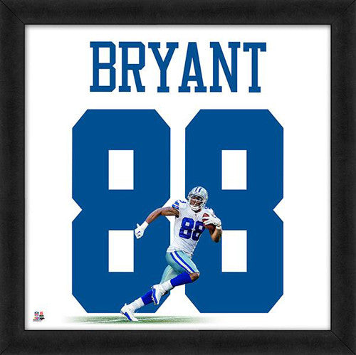 "Dez Bryant ""Number 88"" Dallas Cowboys FRAMED 20x20 UNIFRAME PRINT - Photofile"