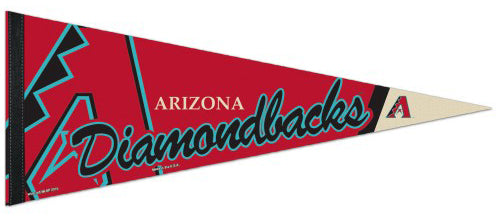 Arizona Diamondbacks Logo-Style Official MLB Baseball Premium Felt Pennant - Wincraft