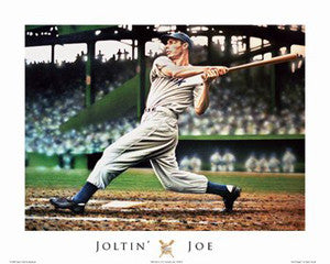 "Joe DiMaggio ""Joltin' Joe"" Art Print by Darryl Vlasak - ISI 2008"