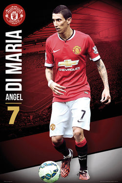 "Angel Di Maria ""Superstar"" Manchester United FC Soccer Action Poster - GB Eye (UK)"